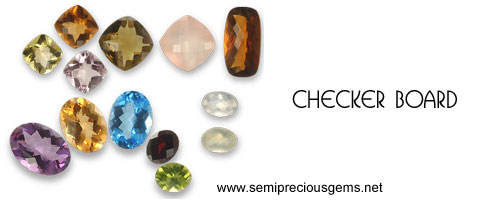 gemstones checker board